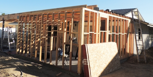 room-addition-framing