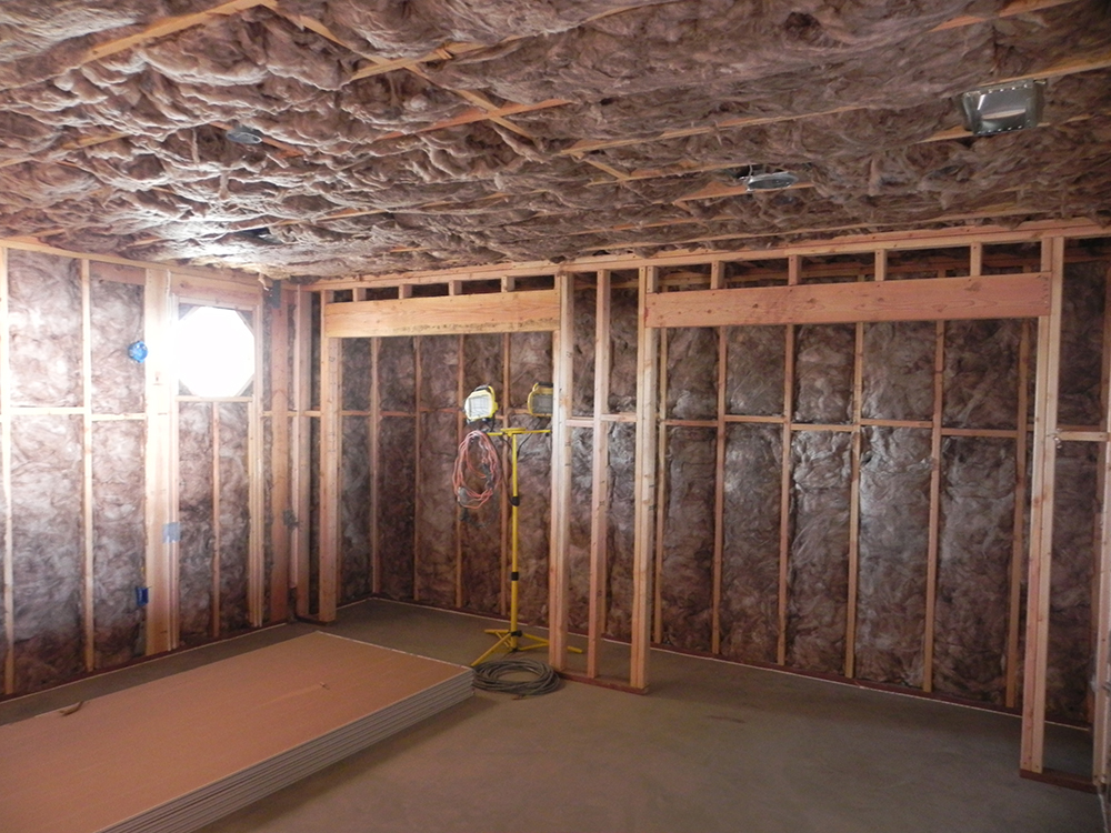 Insulation Cidar Construction Home Remodeling Contractor