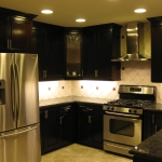 Cherry Color real wood cabinets