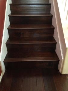 Engineered Wood Floor Steps