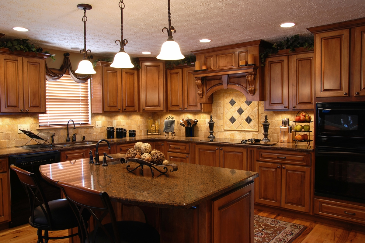 Kitchen remodeling contractor cabinets counters flooring for Kitchen home remodeling