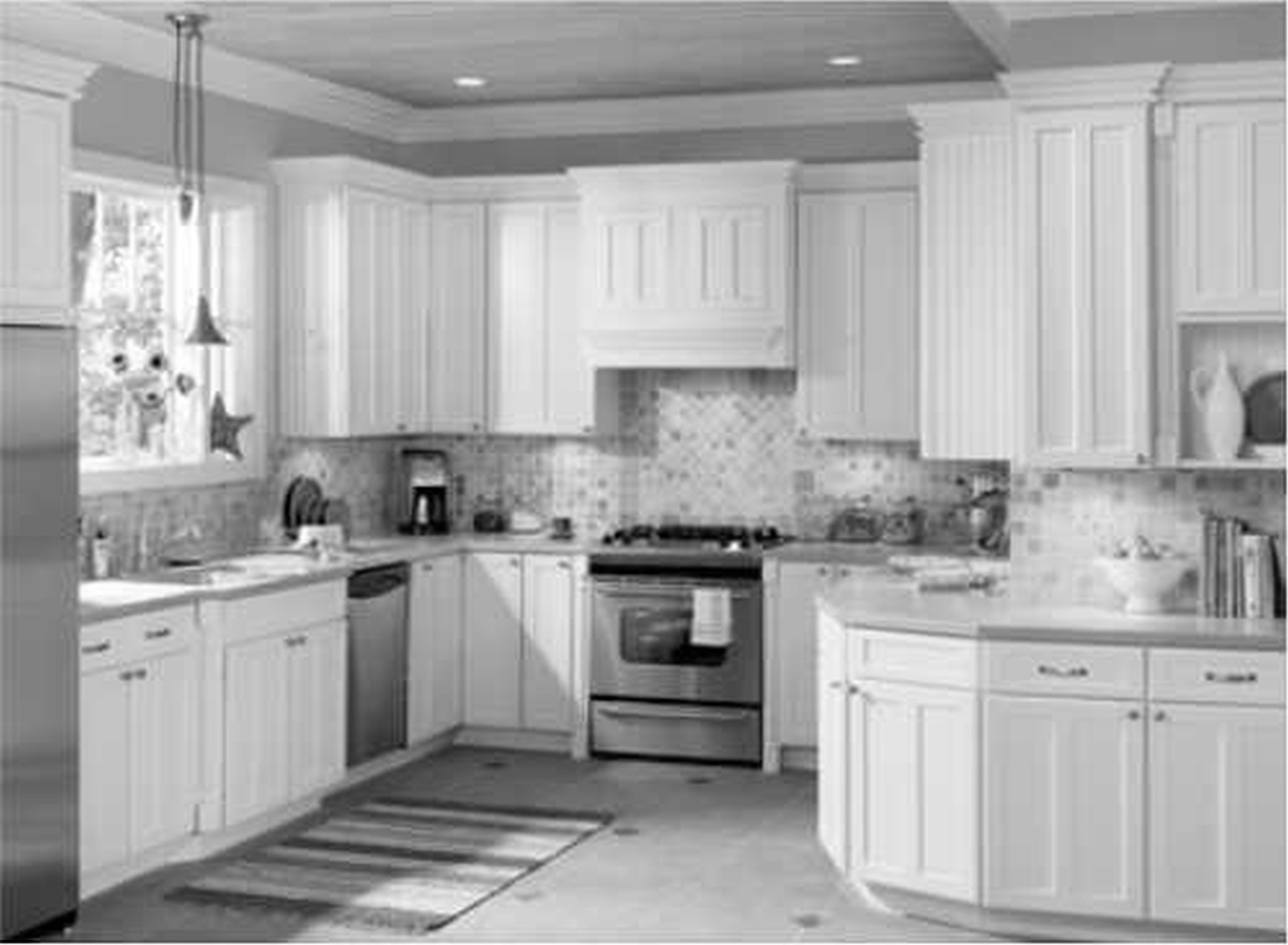 kitchen-remodeling-grey-and-white-kithen - Cidar Construction - Home ...