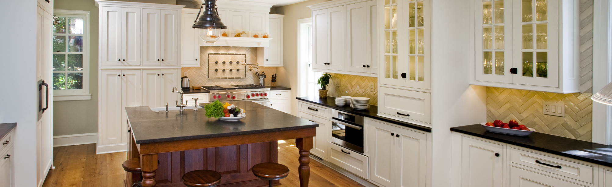 white-cabinets-Kitchen-Remodeling