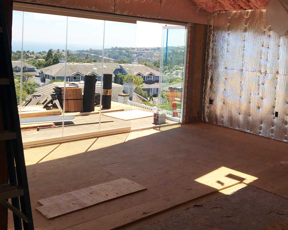 Balcony room addition cidar construction home for Balcony addition