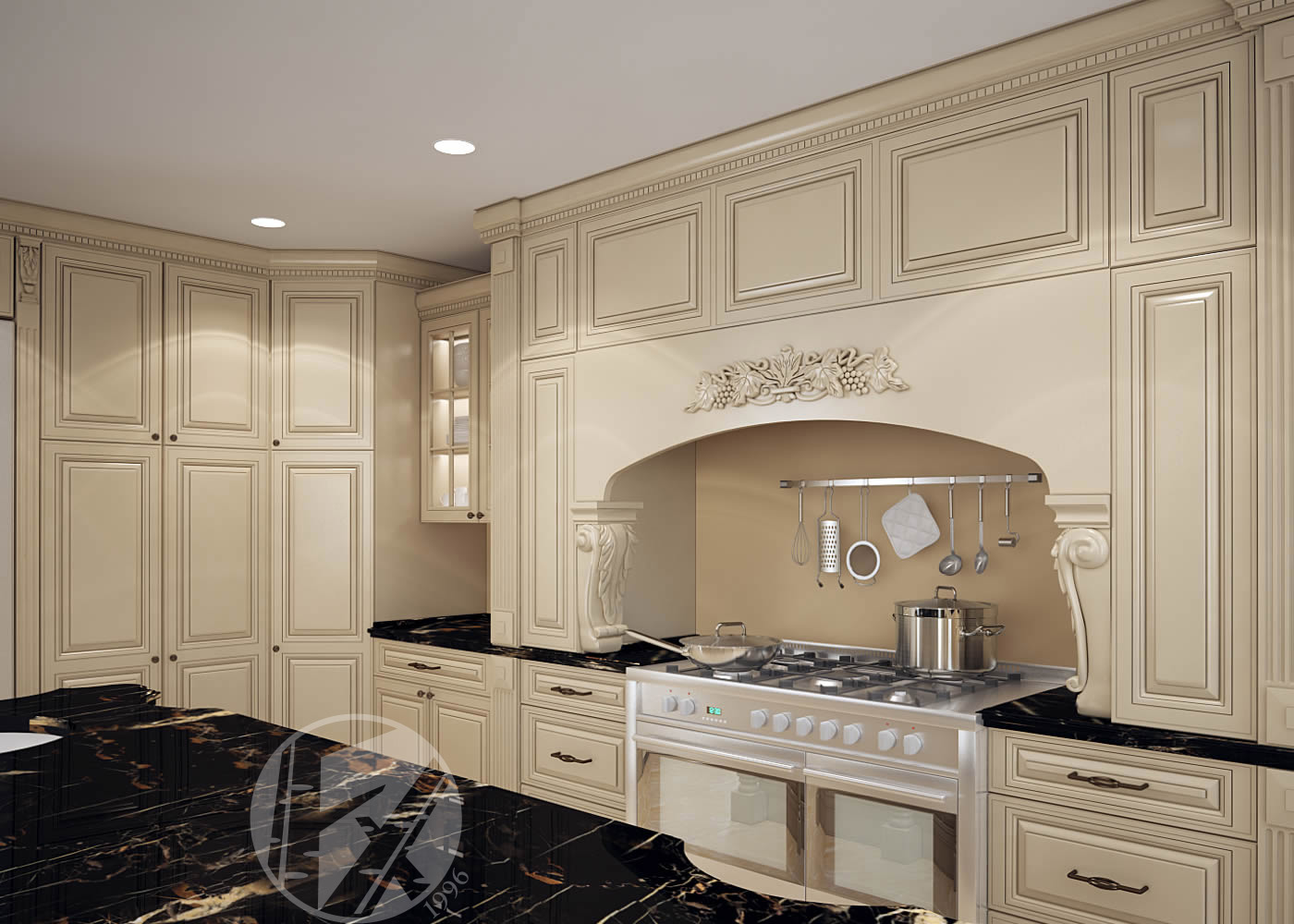 vanilla cream kitchen cabinets vanilla maple glazed kitchen cabinets besto 27911
